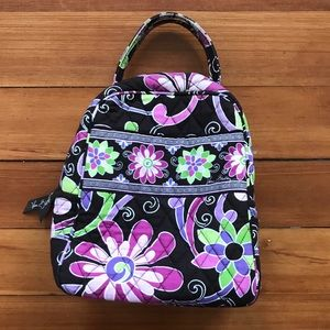 Vera Bradley Lunch Tote in Purple Punch
